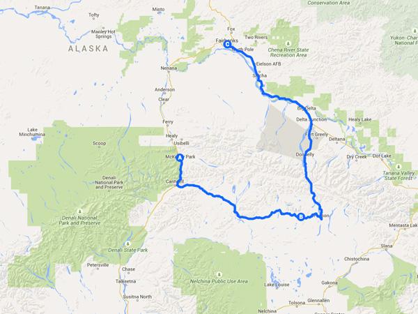 Denali Highway Route
