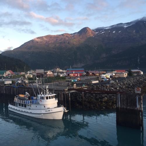 Whittier's pretty harbor