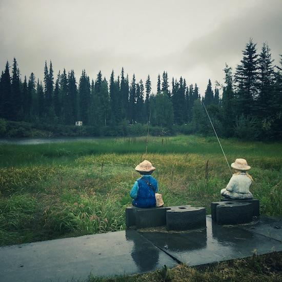 Fake Kids Fishing