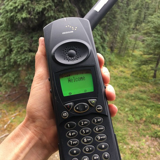 Photo of an Iridium Satellite Phone